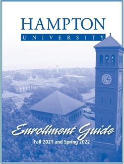 2021-2022 Enrollment Guide Front Cover
